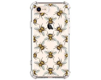 Bumble Bee Phone Case, iPhone SE, 7, 7 plus, 8, 8 Plus, X, Xs, Xs MAX, XR, 11, 11 Pro Max, Galaxy S8, S8 Plus, S9, s9 plus, Note 8, Note 9