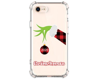 Grinchmas 2020, Grinchmas gift, Grinch Christmas, iPhone 12, 12 pro, X, Xs MAX, XR, iPhone 11, Galaxy S10 Plus, S20 FE, S20, Note 9, Note 10