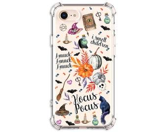 Hocus Pocus Witch Binx Case, iPhone 11, iPhone 11 Pro, iPhone 11 Pro max, iPhone xs, iPhone 8 Plus, iPhone XR, iPhone xs max, Galaxy S9