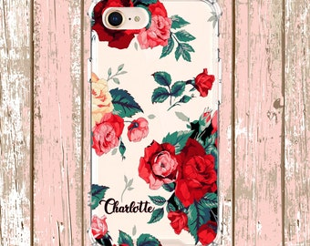 Roses Phone Case, iPhone 6, 6 plus, 7, 7 plus, 8, 8 Plus, X,  Xs MAX, XR,  Galaxy S8, S8 Plus, S9, s9 plus, Note 8, Note 9