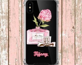 Pretty Perfume Custom iphone 5, iphone 6, iPhone 6 plus, iPhone 7, iPhone 7 plus, iPhone Xs, iPhone XR, iPhone xs max, iPhone X, Galaxy S9
