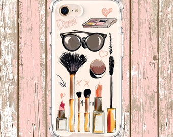 Make up gift case, iPhone 6, 6 plus, 7, 7 plus, 8, 8 Plus, X, Xs, Xs MAX, XR, Galaxy S8, S8 Plus, S9, s9 plus, Note 8, Note 9