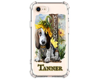 Beagle Mom Dog Personalized gift, iPhone 6, 6 plus, 7, 7 plus, 8, 8 Plus, X, Xs MAX, XR, Galaxy S10, S9, s9 plus, Note 8, Note 9 Cute Dog