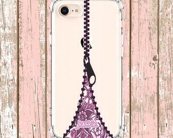 Zipper Phone Case, iPhone 6, 6 plus, 7, 7 plus, 8, 8 Plus, X, Xs, Xs MAX, XR, Samsung Galaxy S8, S8 Plus, S9, s9 plus, Note 8, Note 9