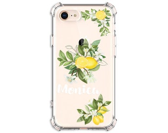 Lemon Tree Branch phone case, Personalized Lemon lover case, iphone SE, iPhone  iPhone XR, iPhone xs max, iPhone 11, iPhone 12, Galaxy S9