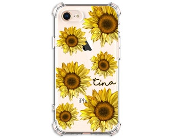 Sunflower phone case, iphone 12, iphone 12 pro, iPhone 11, iPhone 11 pro max, iPhone XR, iPhone xs max,  Galaxy S9, Galaxy a20, Galaxy S20fe