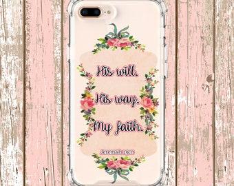 Jeremiah 29:11 Bible Verse Case, iPhone 6, 6 plus, 7, 7 plus, 8, 8 Plus, X, Xs MAX, XR, Galaxy S10, S10 Plus, S9, s9 plus, Note 8, Note 9