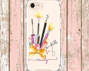 Make up lover phone case, iPhone 6, 6 plus, 7, 7 plus, 8, 8 Plus, X, Xs, Xs MAX, XR, Galaxy S8, S8 Plus, S9, s9 plus, Note 8, Note 9