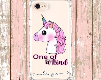 One of a Kind Unicorn Horn Case, iPhone 6, 6 plus, 7, 7 plus, 8, 8 Plus, X, Xs, Xs MAX, XR, Galaxy S8, S8 Plus, S9, s9 plus, Note 8, Note 9