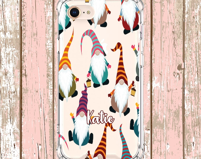 Featured listing image: Christmas Gnomes Case, iPhone 6, 6 plus, 7, 7 plus, 8, 8 Plus, X, Xs, Xs MAX, XR, Samsung Galaxy S8, S8 Plus, S9, s9 plus, Note 8, Note 9
