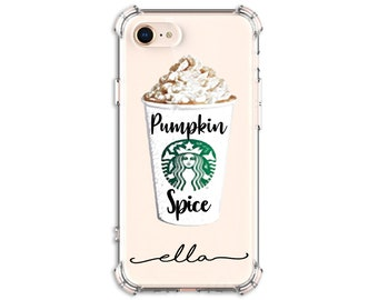 Pumpkin Spice latte Case, iPhone 6, 6 plus, 7, 7 plus, 8, 8 Plus, X,  Xs MAX, XR, Galaxy S8, S8 Plus, S9, s9 plus, Note 8, Note 9