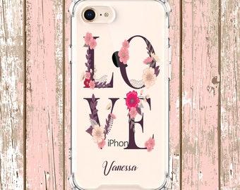 LOVE letters iphone case, iPhone 6, 6 plus, 7, 7 plus, 8, 8 Plus, X, Xs, Xs MAX, XR, Samsung Galaxy S8, S8 Plus, S9, s9 plus, Note 8, Note 9