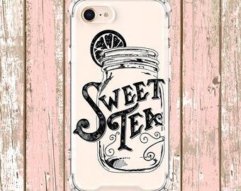 Sweet Tea case, iPhone 6, 6 plus, 7, 7 plus, 8, 8 Plus, X, Xs, Xs MAX, XR, Galaxy S8, S8 Plus, S9, s9 plus, Note 8, Note 9
