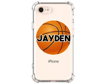 Basketball Personalized case, iPhone SE, 6 plus, 7, 7 plus, 8, 8 Plus, X, Xs MAX, XR, Galaxy S8, S8 Plus, S9, s9 plus, Note 8, Note 9, S10