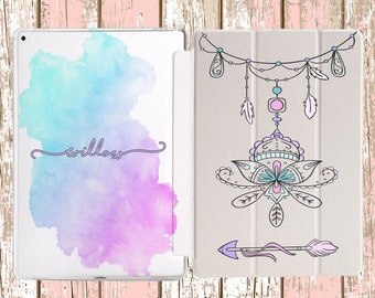 Dream Catcher Indie Watercolor Arrow Design for iPad Air, iPad Air 2, iPad pro, iPad 10.5, iPad Mini 4