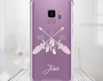 Wild n Free Custom Name, iPhone 6, 6 plus, 7, 7 plus, 8, 8 Plus, X, Xs, Xs MAX, XR, Samsung Galaxy S8, S8 Plus, S9, s9 plus, Note 8, Note 9