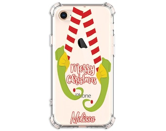 CHRISTMAS Elf Shoes Phone Case, iPhone 8 Plus, X, Xs MAX, XR, 11, 11 pro, 12, 12 pro, Galaxy S10, Note 8, Note 9, Note 20, Note 20 ultra