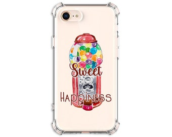 Gumball sweet happiness, Gumball Phone Case, iPhone 11, 11 Pro, 8, X, Xs MAX, XR, Samsung Galaxy S8, S8 Plus, S9, s9 plus, Note 8, Note 9