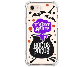 HOCUS POCUS Halloween Phone Case, iPhone 11, iPhone 8 plus, iPhone Xs, iPhone XR, iPhone xs max, iPhone X, Galaxy S9, Galaxy S10, S10e