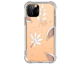 Abstract Leaves, Modern iPhone 12, iPhone XR, iphone 11 pro max, iPhone XS Max, Galaxy S20 FE, Galaxy A20, Galaxy S10 Plus, Note 20, Note 9