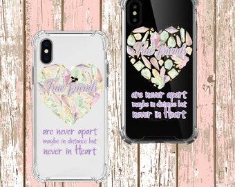 True Friend Gift set, iPhone SE, 6, 6 plus, 7, 7 plus, 8, 8 Plus, X, Xs, Xs MAX, XR, Samsung Galaxy S8, S8 Plus, S9, s9 plus, Note 8, Note 9