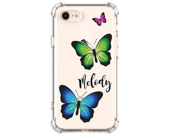 Butterfly Custom iPhone Case, iPhone 6 plus, 8, 8 Plus, X,  Xs MAX, XR, Galaxy S10, S8 Plus, S9, s9 plus, S20, Note 8, Note 9, Note 20