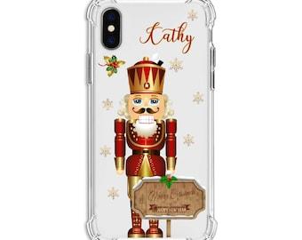 Christmas Nutcracker, iPhone 12, iPhone 12 Pro, 12 Pro max, 8, 8 Plus, X,  Xs MAX, XR, Galaxy S8, S8 Plus, S9, s9 plus, Note 8, Note 9, S10