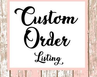 Custom Order Phone Case for iPhone 6, 6 plus, 7, 7 plus, 8, 8 Plus, X, Xs, Xs MAX, XR, Galaxy S8, S8 Plus, S9, s9 plus, Note 8, Note 9