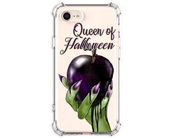 HALLOWEEN Witch Poison Apple Phone Case, iPhone 11, 11 Pro, 8, 8 Plus, X, Xs MAX, XR, Galaxy S10, S8 Plus, S9, s9 plus, Note 9, Note 10