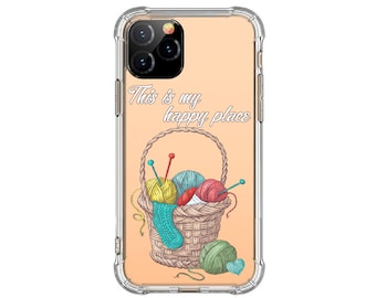 Crochet phone case, crocheting basket, iPhone 12, iphone 12 pro, iphone 11, Galaxy s20 fe, note 20, S10e, S9, s9 plus, Note 8, Note 9