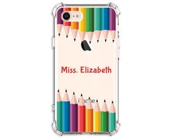 Teacher Gift, Back to school, iPhone 6, 6 plus, 7, 7 plus, 8, 8 Plus, X, Xs MAX, XR, Galaxy S10, S10e, S8 Plus, S9, s9 plus, Note 8, Note 9