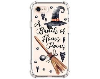 Hocus Pocus Witch Broom, iPhone 11, 11 Pro, 7, 7 plus, 8, 8 Plus, X, Xs, Xs MAX, XR, Samsung Galaxy S8, S8 Plus, S9, s9 plus, Note 8, Note 9