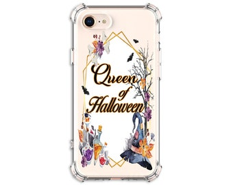 QUEEN of Halloween Phone Case, iPhone 11, 11 Pro, 7, 7 plus, 8, 8 Plus, X, Xs, Xs MAX, XR, Galaxy S10, S8 Plus, S9, s9 plus, Note 8, Note 9
