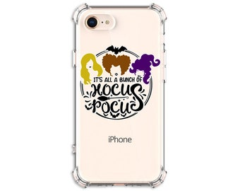 Hocus Pocus Witch Sisters, iPhone 11, 11 Pro, 7 plus, 8, 8 Plus, X, Xs, Xs MAX, XR, Samsung Galaxy S8, S8 Plus, S9, s9 plus, Note 8, Note 9