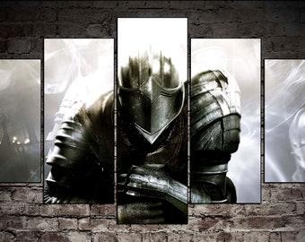 Dark Souls Gift for gamer Dark souls art print  Gift to the fan Video game decor Dark souls poster Video game art Video game gifts Game art