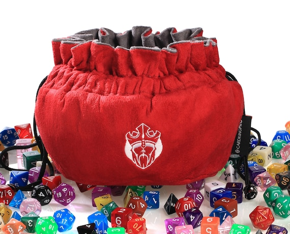 Phenomenal Dice Bag Immense Capacity 150 Dices Freestanding Red By Cardkingpro Evergreenethics Interior Chair Design Evergreenethicsorg
