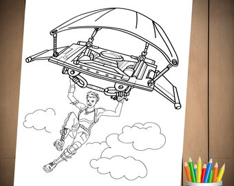 Fortnite Battle Royale Coloring Page Coloring Squared T