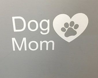 Dog Mom with Heart