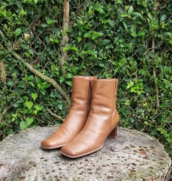 Vintage Diba, Vintage Boots, Brown Ankle Boots, Br