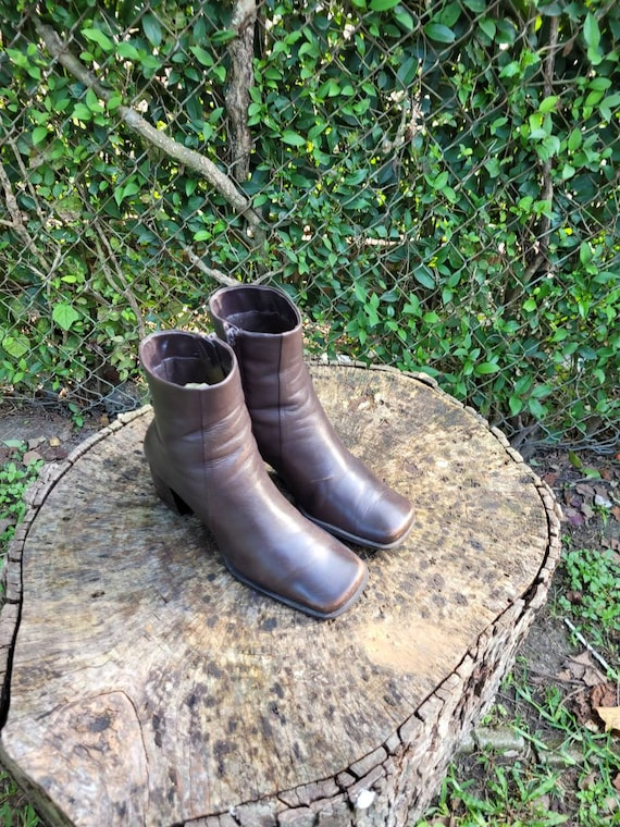Nine & Company Vintage Ankle Boots For Women Size