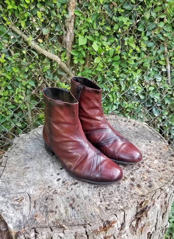 Vintage Florsheim Men's Duke Dress Boots/Genuine L