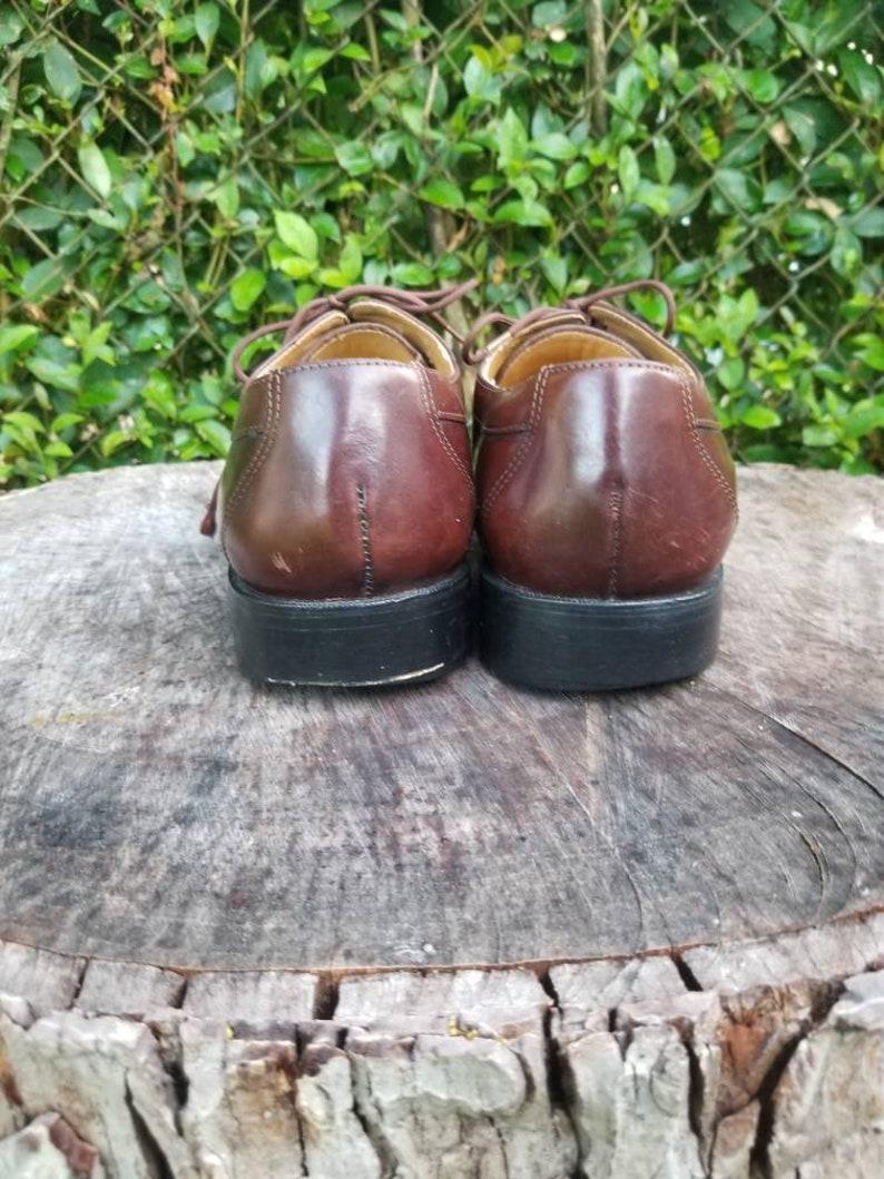 Sz 12 Vintage  Men/'s Oxfords Tie Up Oxford ShoesItalian Made Shoes
