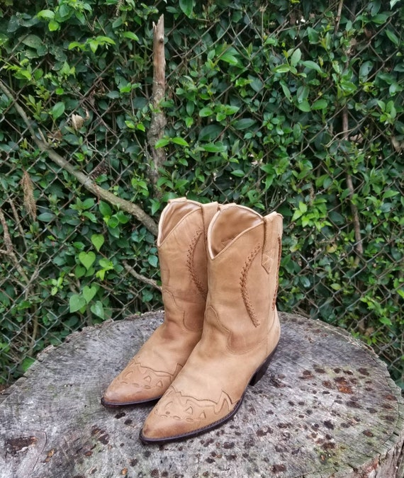 CCO Company 9 Western Cowboy Boots Size 6.5 M