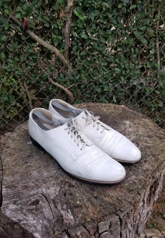 Sz. 12  Vintage Stacy Adams Men's Dress Shoes / St