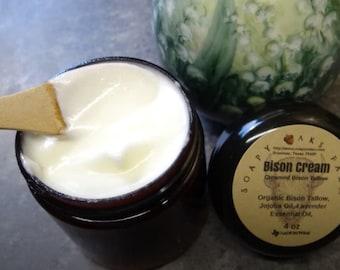 Bison Tallow Cream