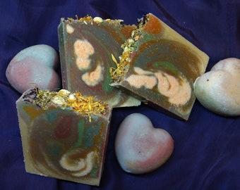 Victorian Garrden - Goat Milk Botanical Soap