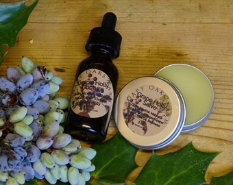 Oregon Grape Holly Salve