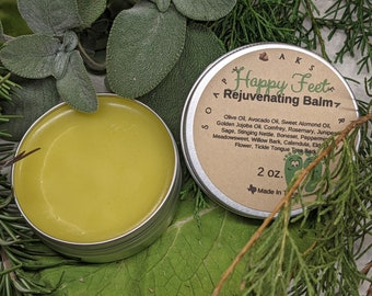 Happy Feet - Rejuvenating Foot Balm