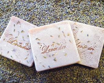 Lavender Cream Goat Milk Luxury Soap