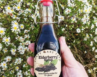 8 oz. Elderberry Syrup